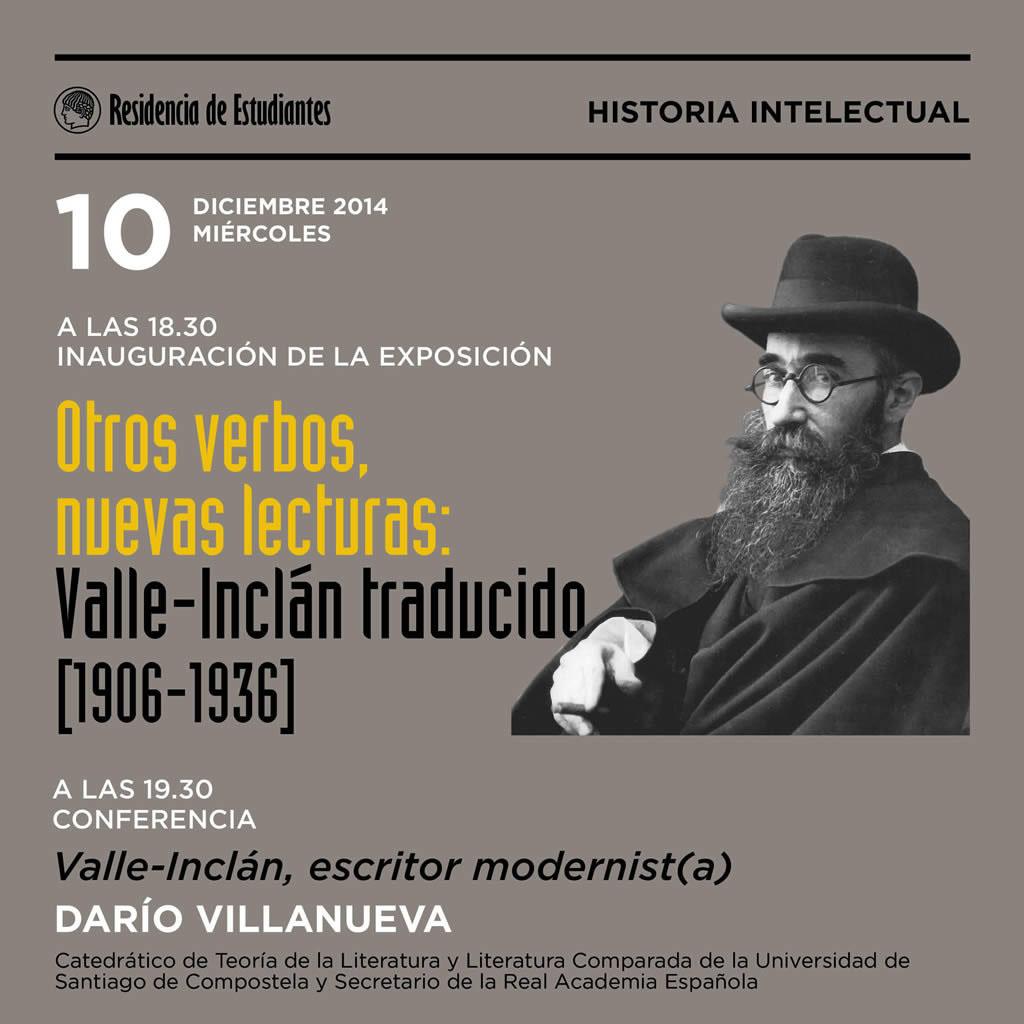 Outros verbos, novas lecturas: Valle-Inclán traducido (1906-1936)