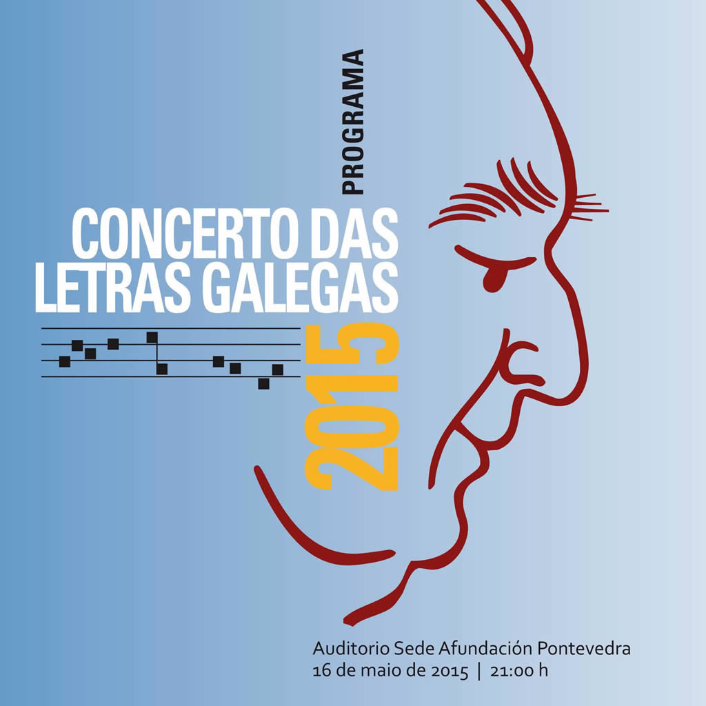 Rolda de prensa: Presentación do Concerto das Letras Galegas