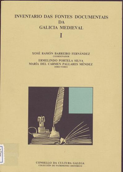 Portada de  Inventario das fontes documentais da Galicia Medieval. v. I