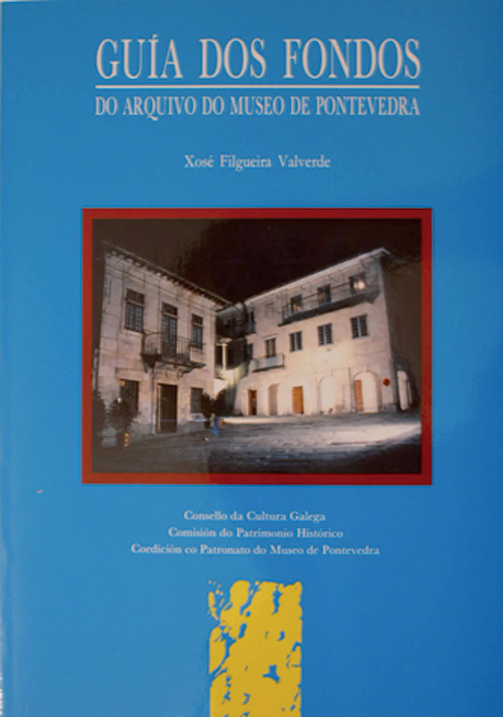 Portada de O arquivo do Museo de Pontevedra