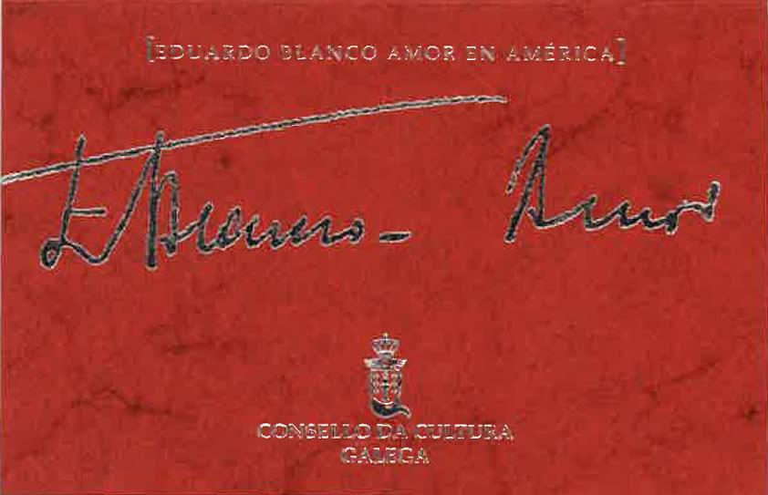 Portada de  Eduardo Blanco-Amor en América (I)