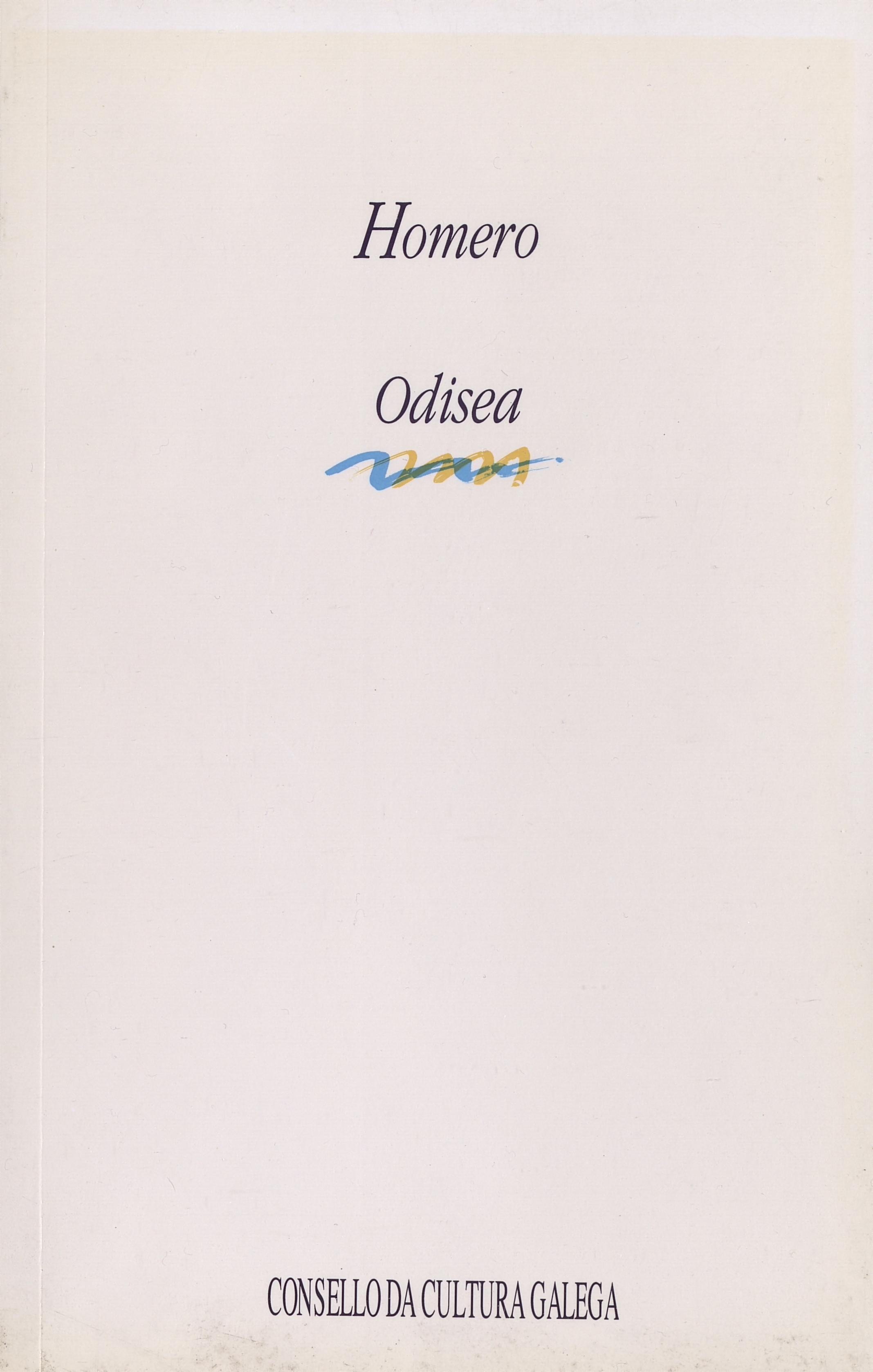 Portada de  Odisea