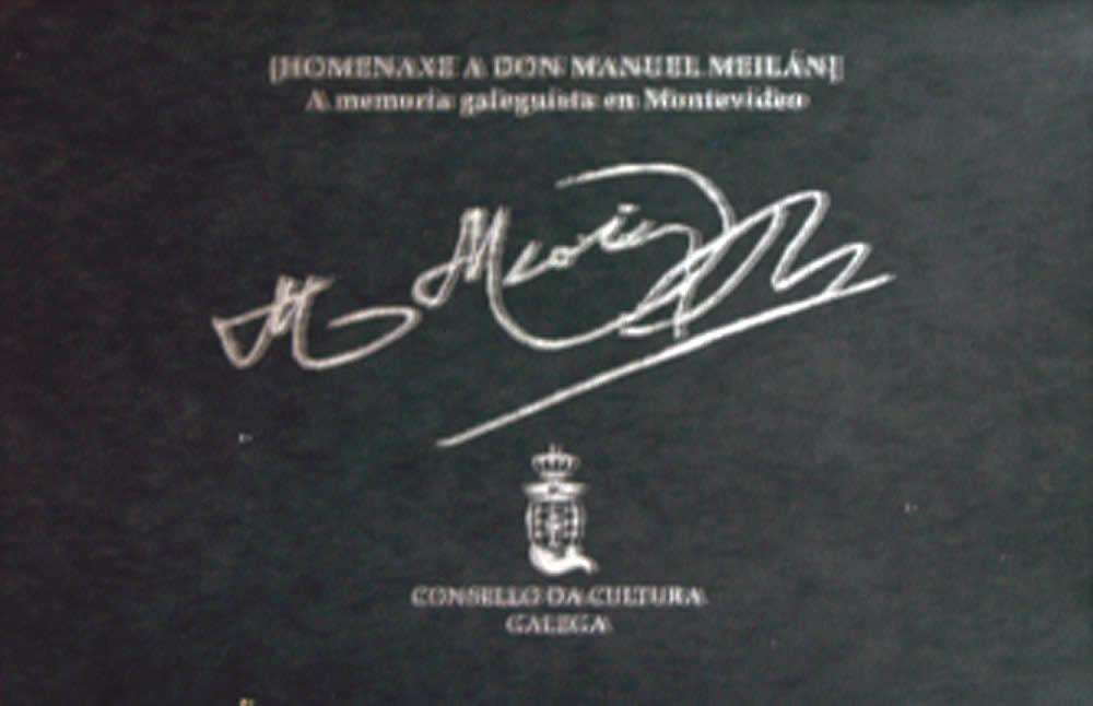 Portada de  Homenaxe a don Manuel Meilán