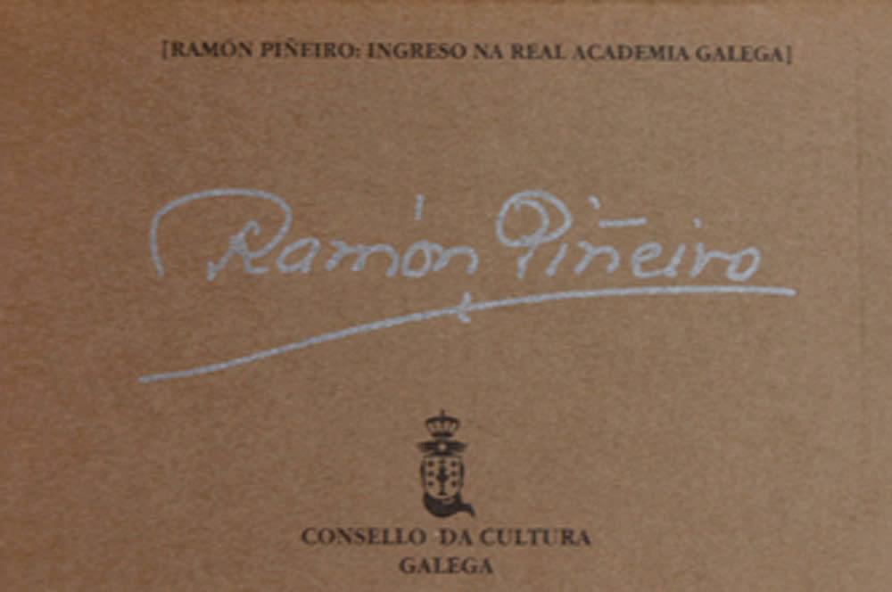 Portada de  Ramón Piñeiro