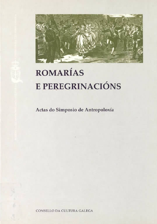 Portada de  Romarías e peregrinacións