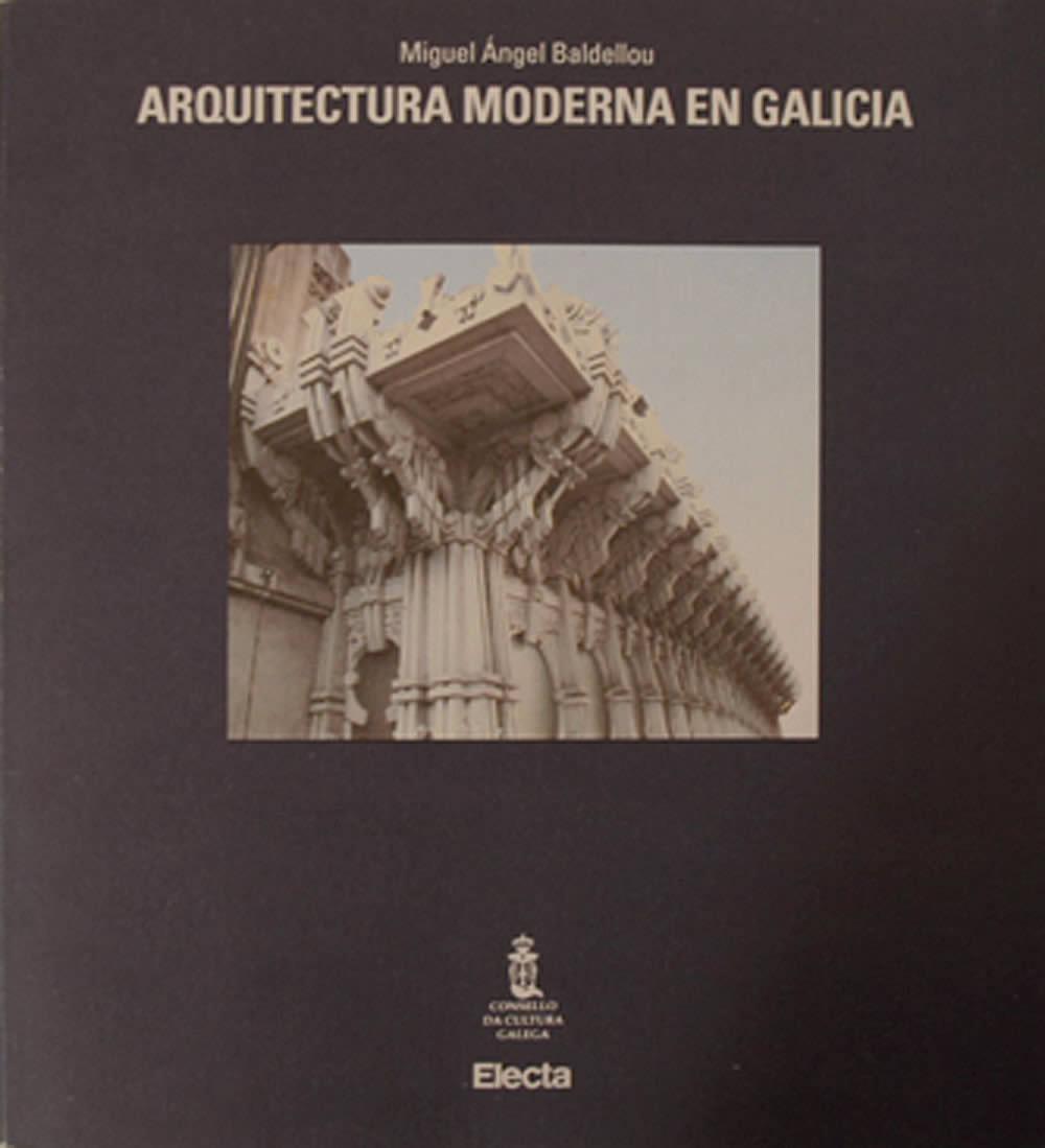 Portada de  Arquitectura moderna en Galicia