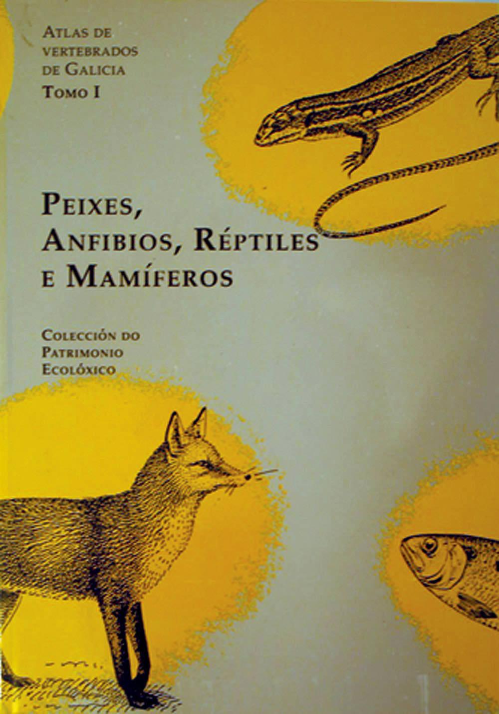 Portada de  Atlas de vertebrados de Galicia