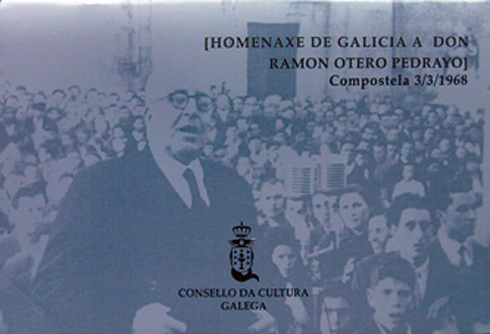 Portada de  Homenaxe de Galicia a Don Ramón Otero Pedrayo