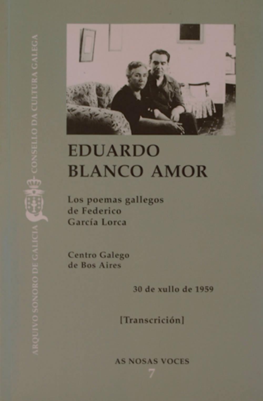 Portada de Los poemas gallegos de Federico García Lorca