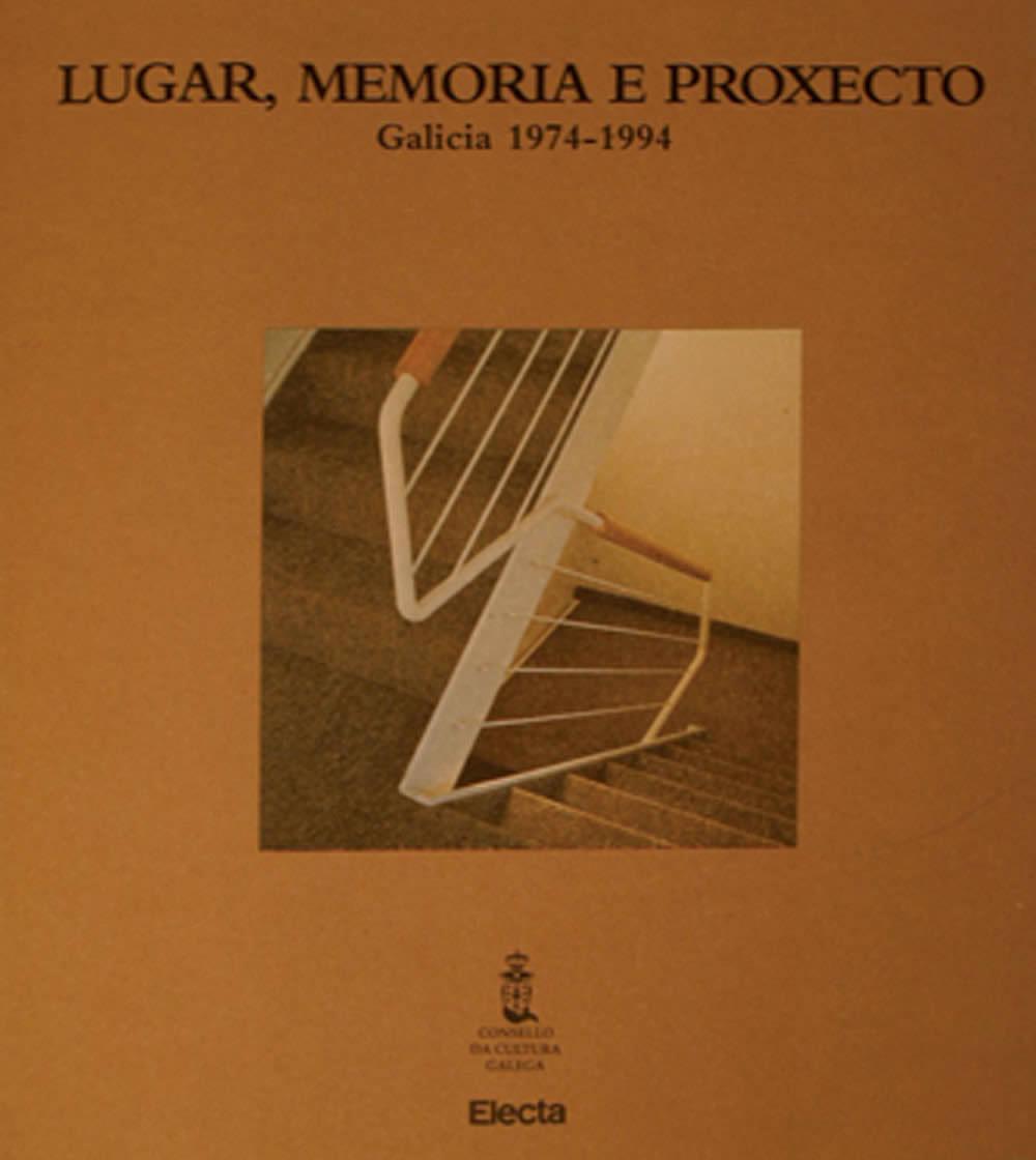 Portada de  Lugar, memoria e proxecto