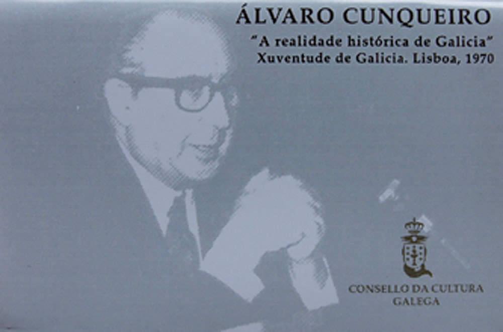 Portada de A realidade histórica de Galicia