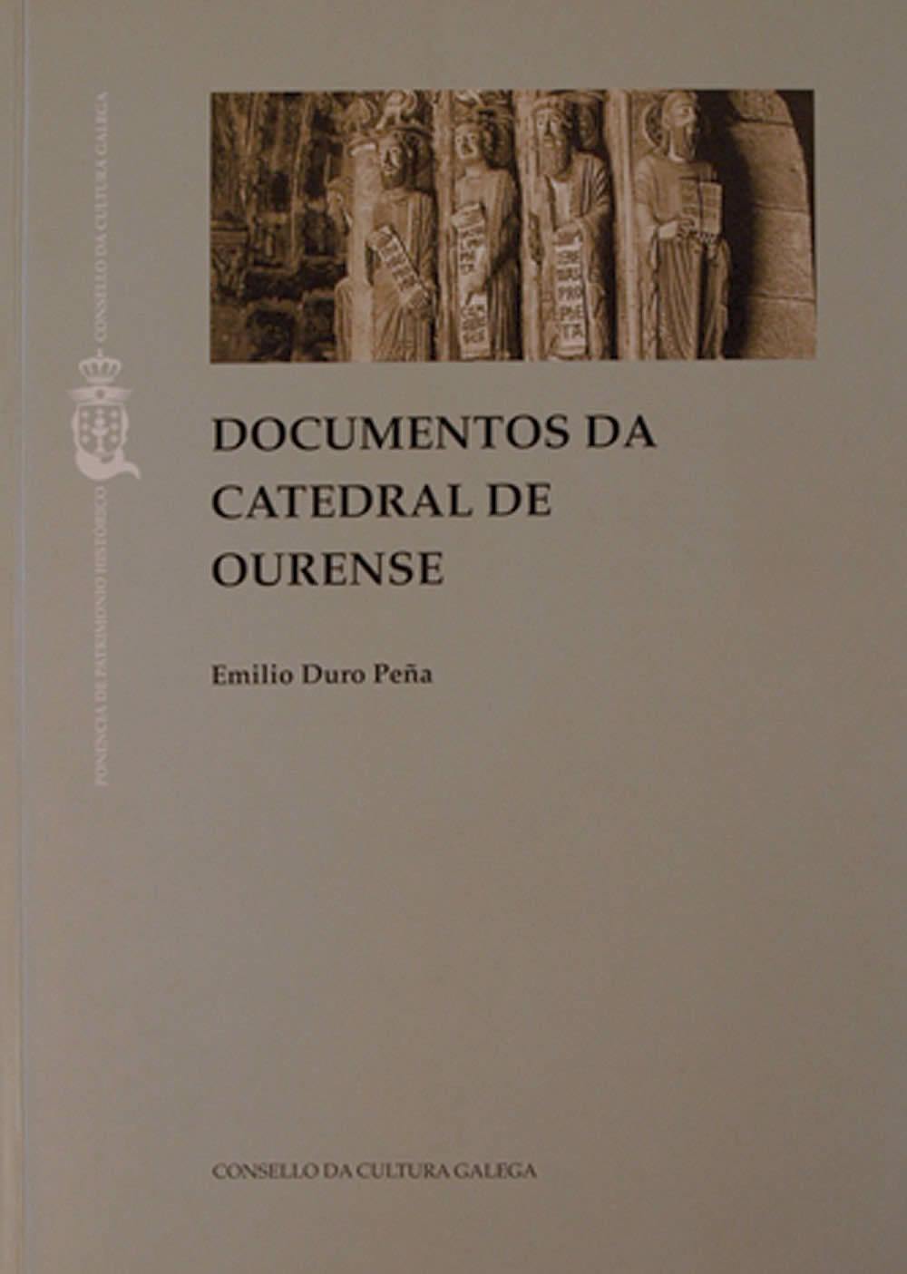Portada de  Documentos da catedral de Ourense