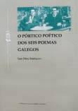 """Portada de O pórtico poético dos """"Seis poemas galegos"""" de García Lorca"""