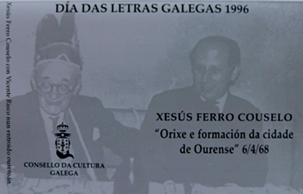 Portada de  Orixe e formación da cidade de Ourense