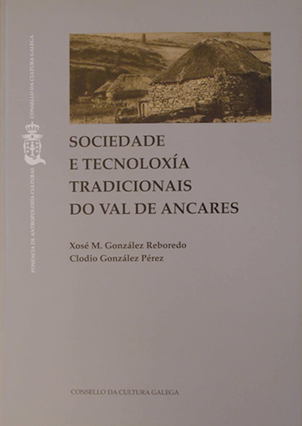 Portada de  Sociedade e tecnoloxía tradicionais do val de Ancares