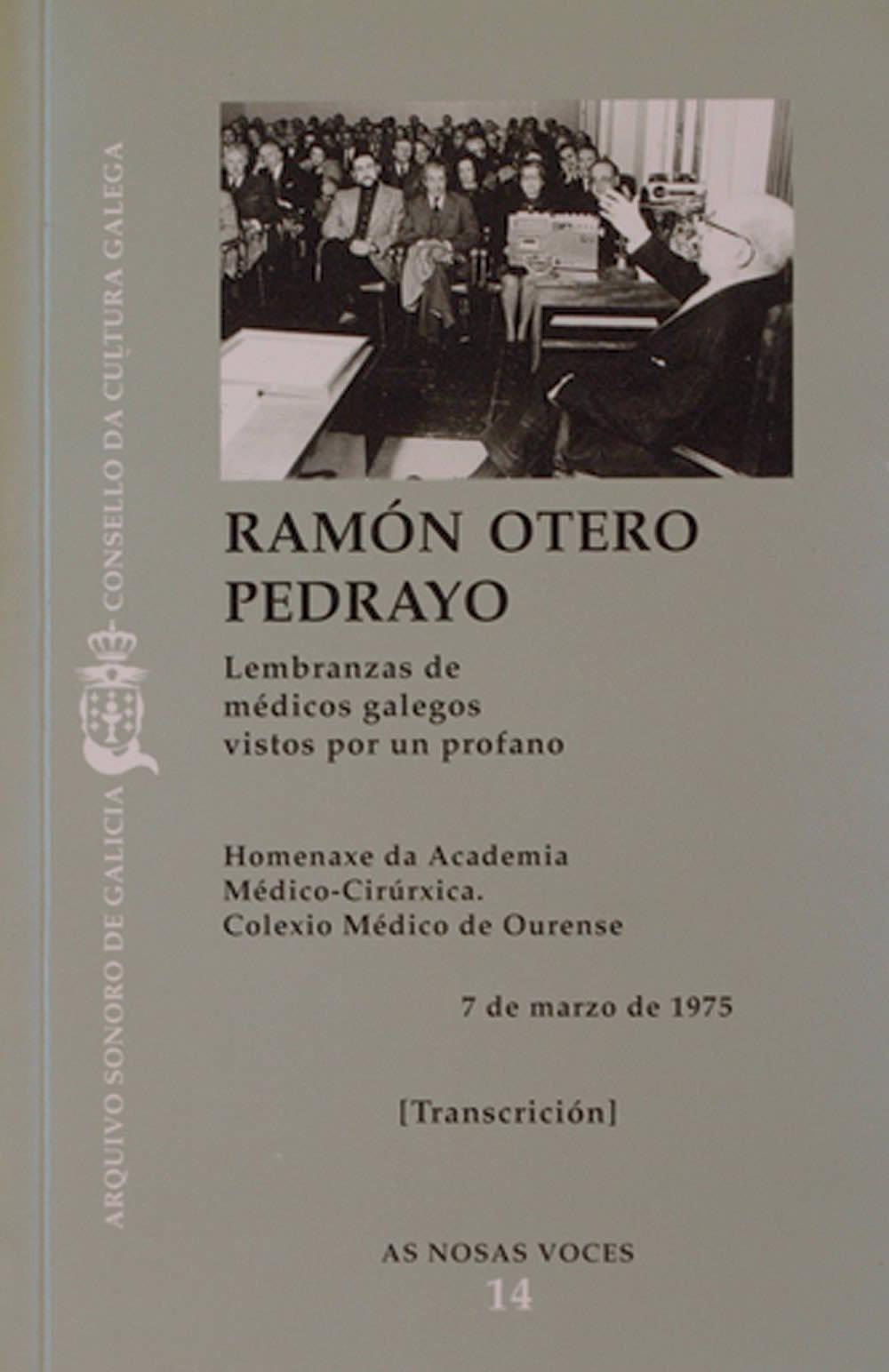 Portada de  Lembranzas de médicos galegos vistos por un profano
