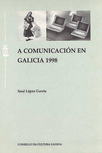 Portada de A comunicación en Galicia 1998
