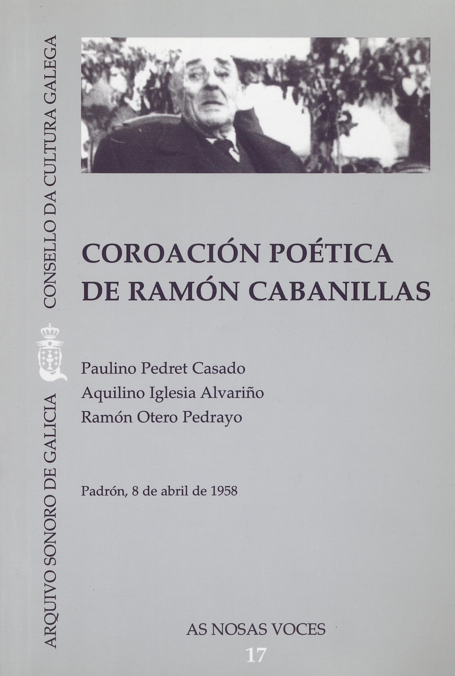 Portada de  Coroación poética de Ramón Cabanillas