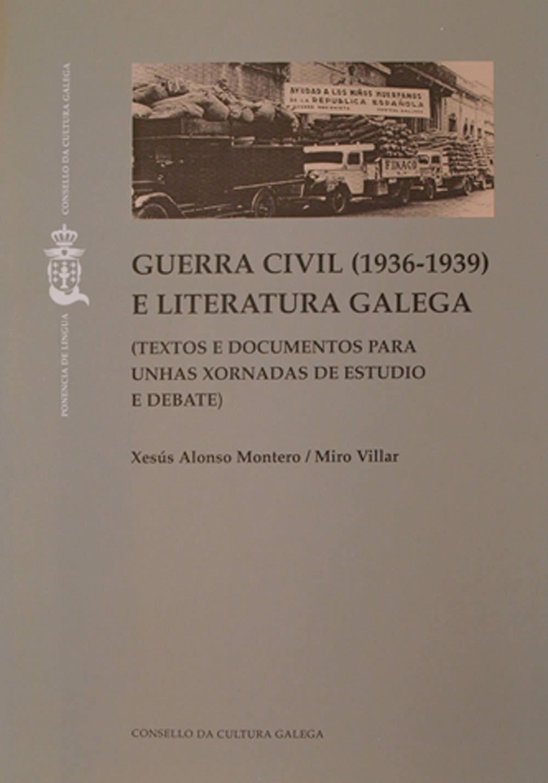 Portada de  Guerra civil (1936-1939) e literatura galega