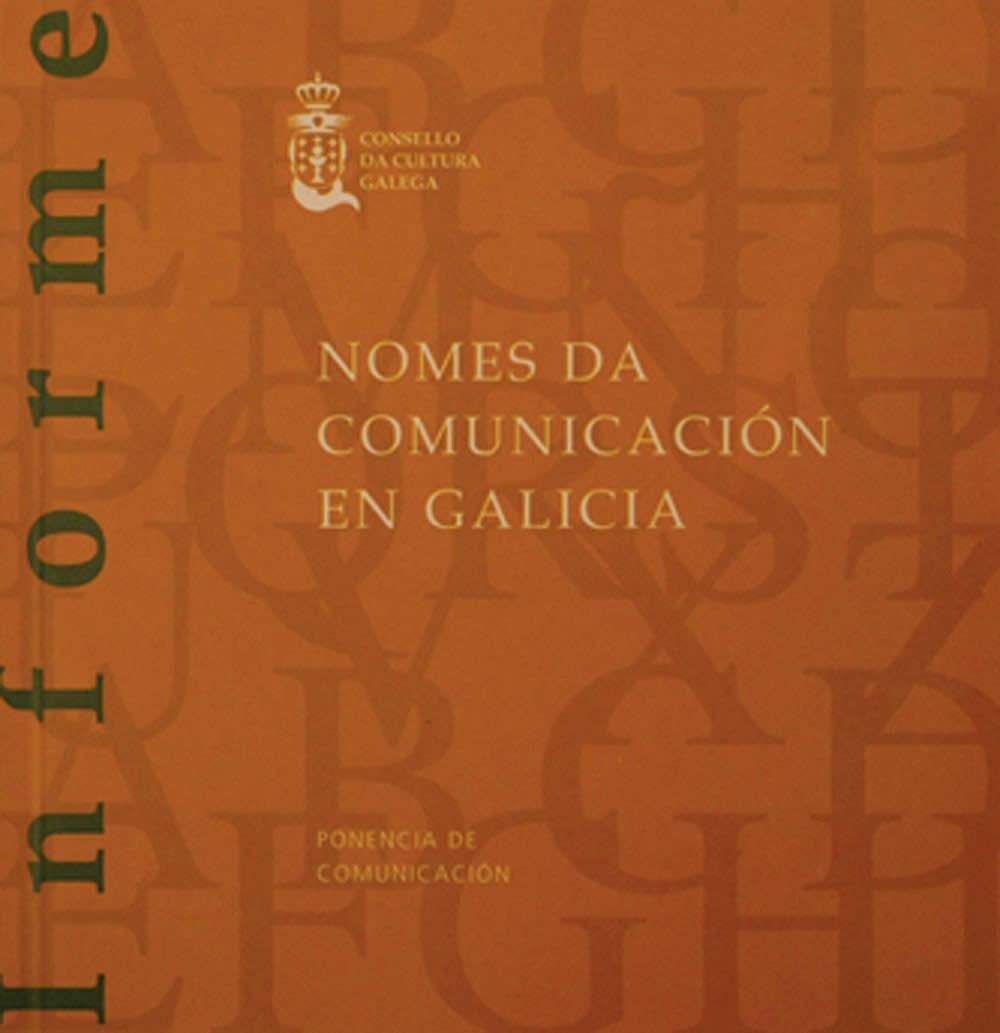 Portada de  Nomes da Comunicación en Galicia
