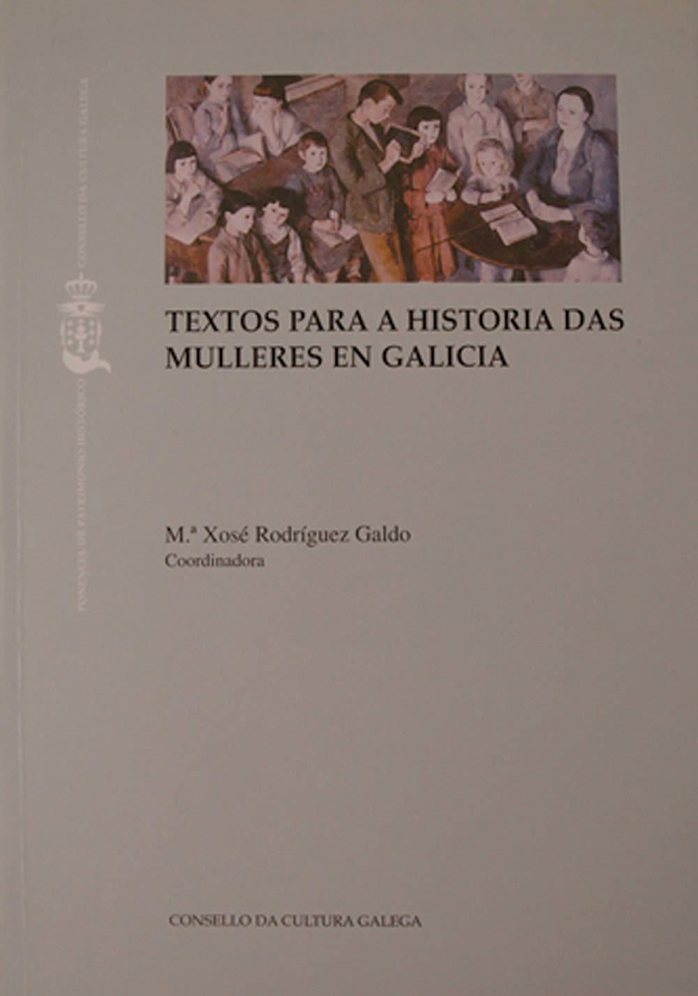 Portada de  Textos para a historia das mulleres en Galicia