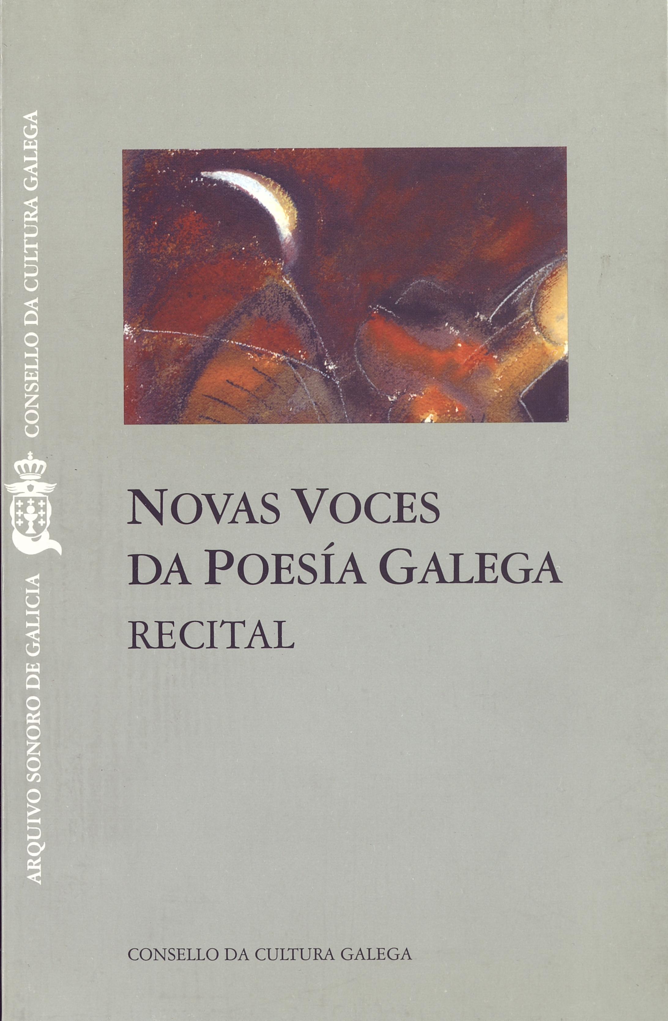 Portada de  Novas voces da poesía galega