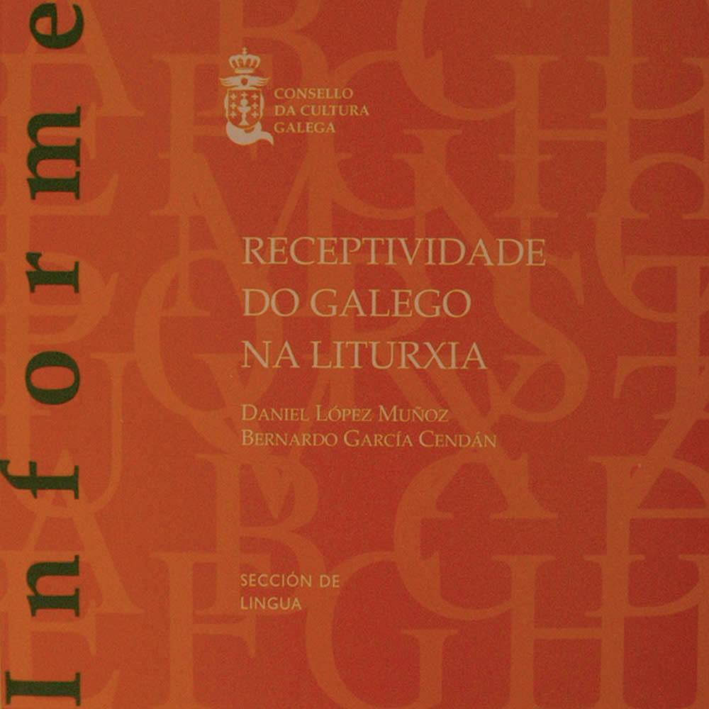 Portada de  Receptividade do galego na liturxia