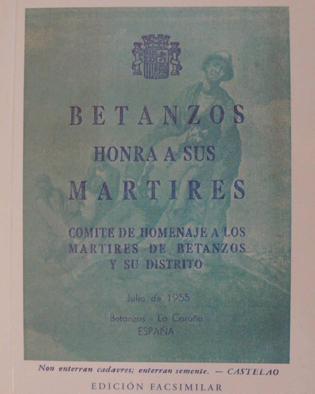Portada de  Betanzos honra a sus mártires