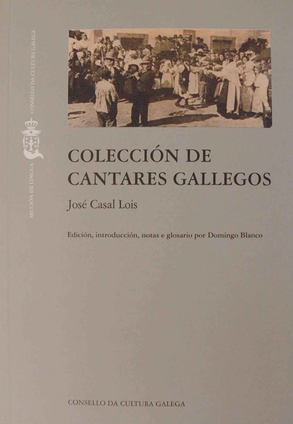Portada de  Colección de Cantares Gallegos