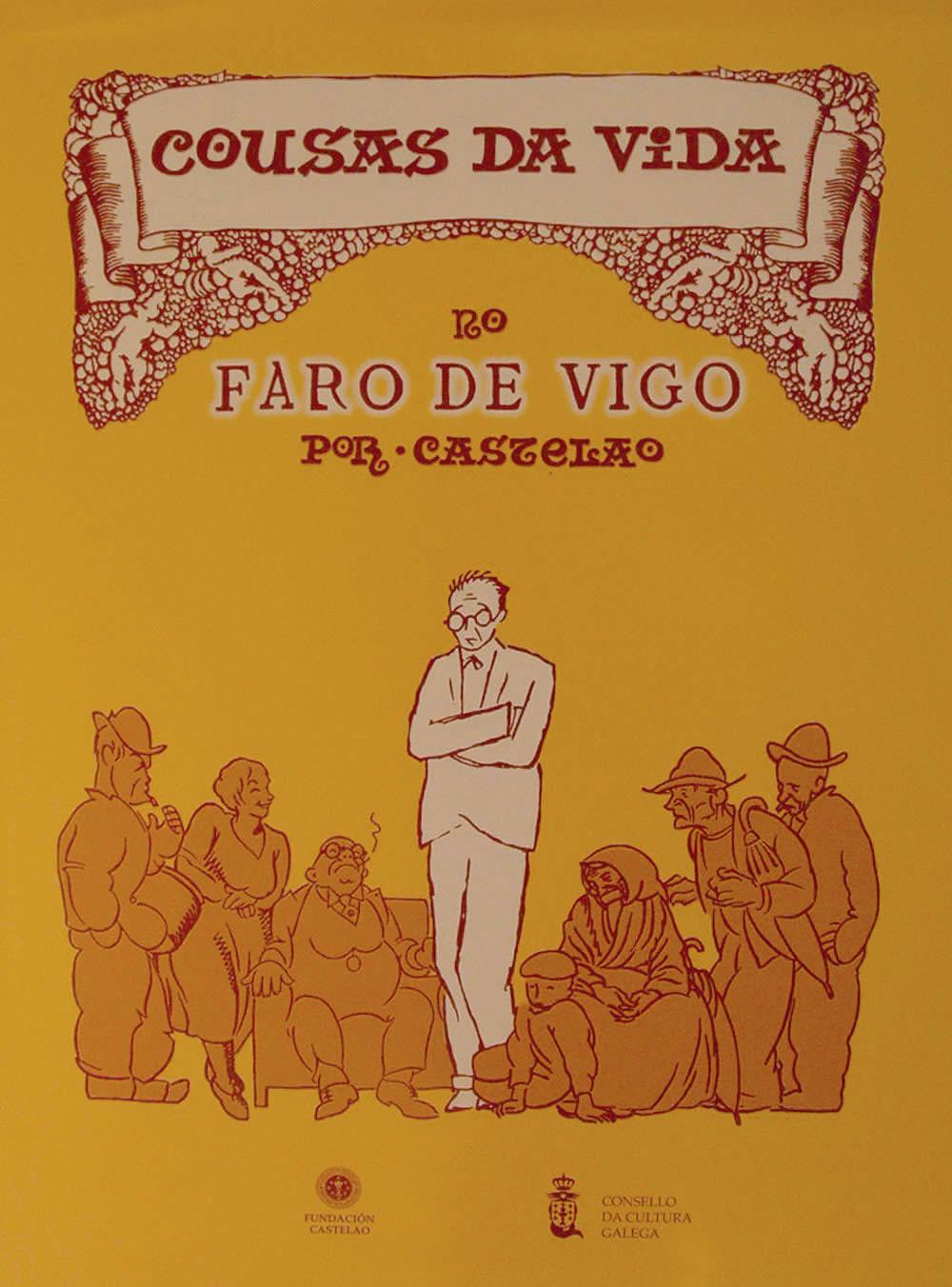 Portada de  Cousas da vida no Faro de Vigo (1926-1933) [Cartoné]