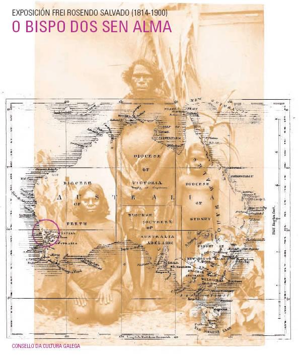 Portada de O bispo dos sen alma. Frei Rosendo Salvado (1814-1900), unha misión en Australia