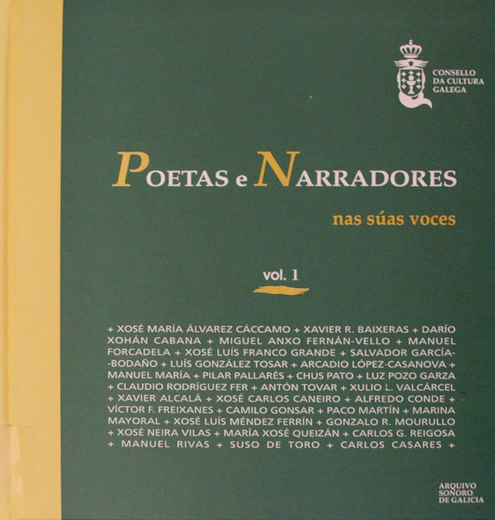 Portada de  Poetas e narradores nas súas voces. v. I