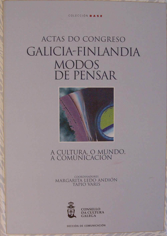 Portada de  Galicia-Finlandia: modos de pensar