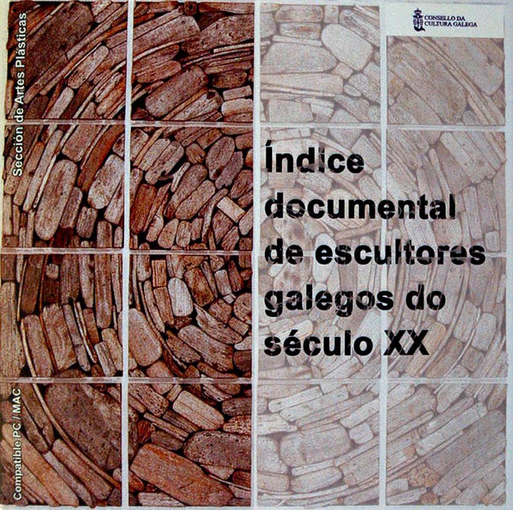 Portada de  Índice documental de escultores galegos do século XX