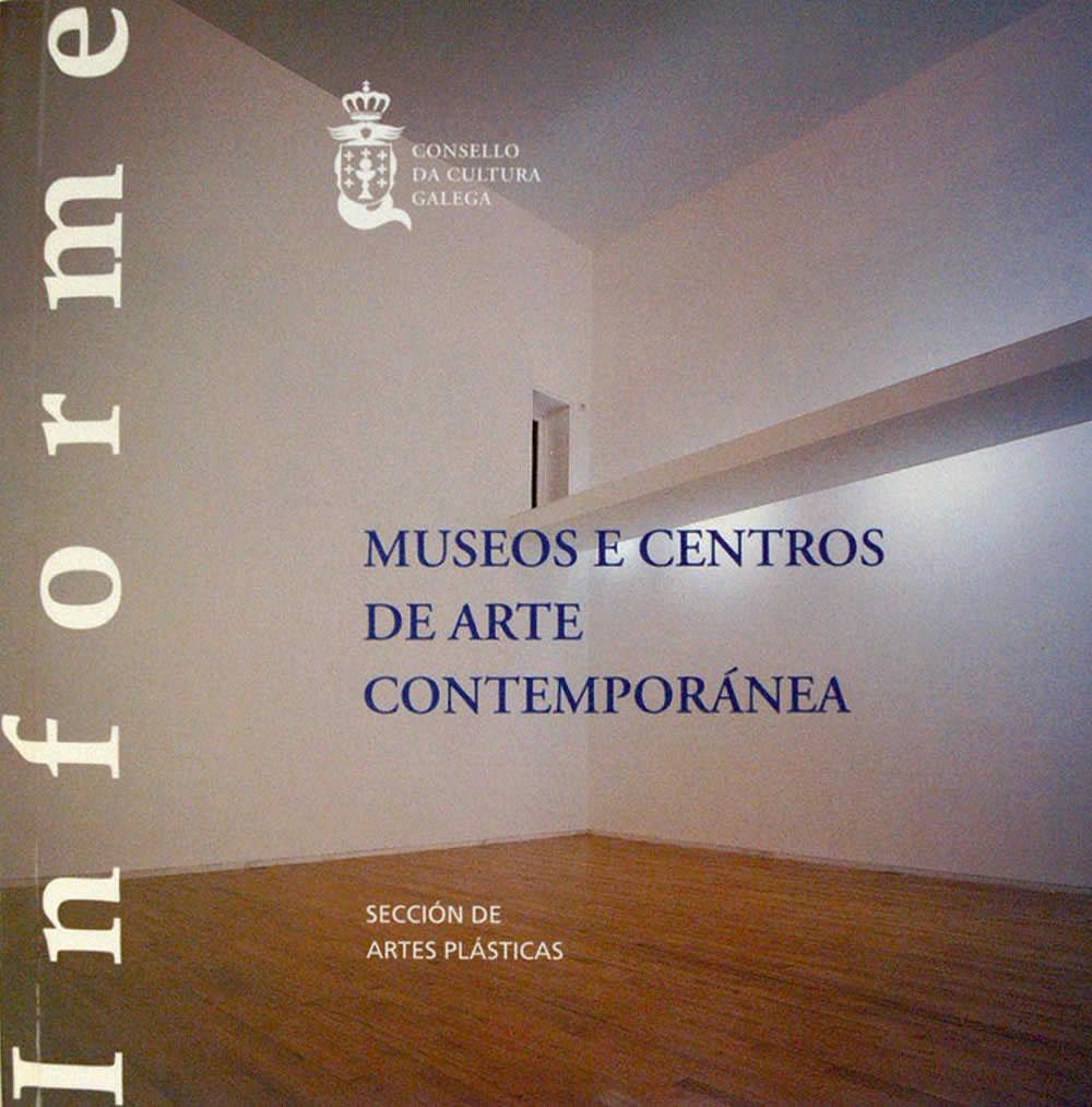 Portada de  Museos e centros de Arte Contemporánea