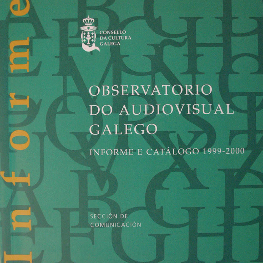 Portada de  Observatorio do audiovisual galego