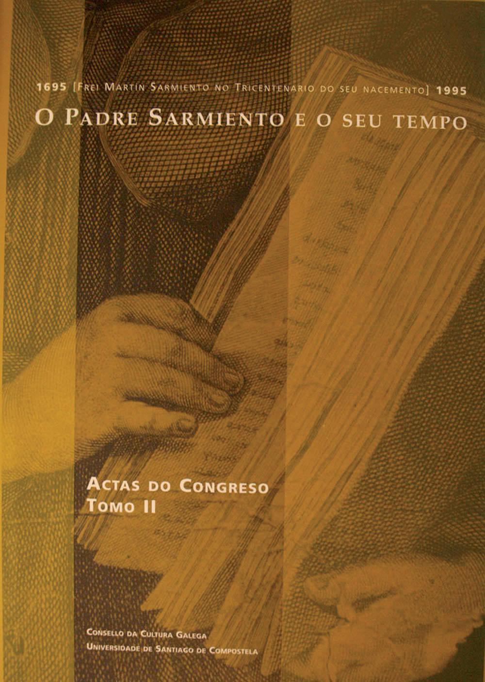 Portada de O Padre Sarmiento e o seu tempo
