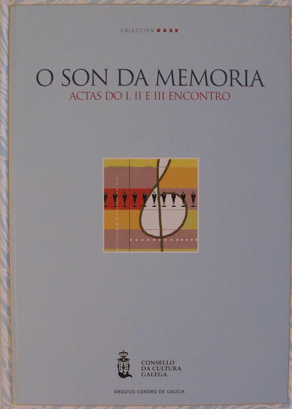 Portada de  Actas I, II e III Encontros o Son da Memoria