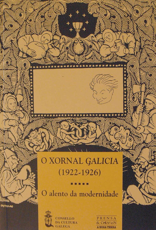 """Portada de O xornal """"Galicia"""" (1922-1926)"""