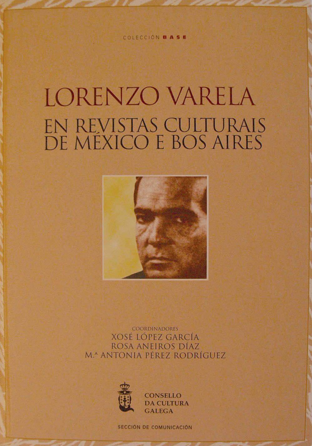 Portada de  Lorenzo Varela en revistas culturais de México e Bos Aires
