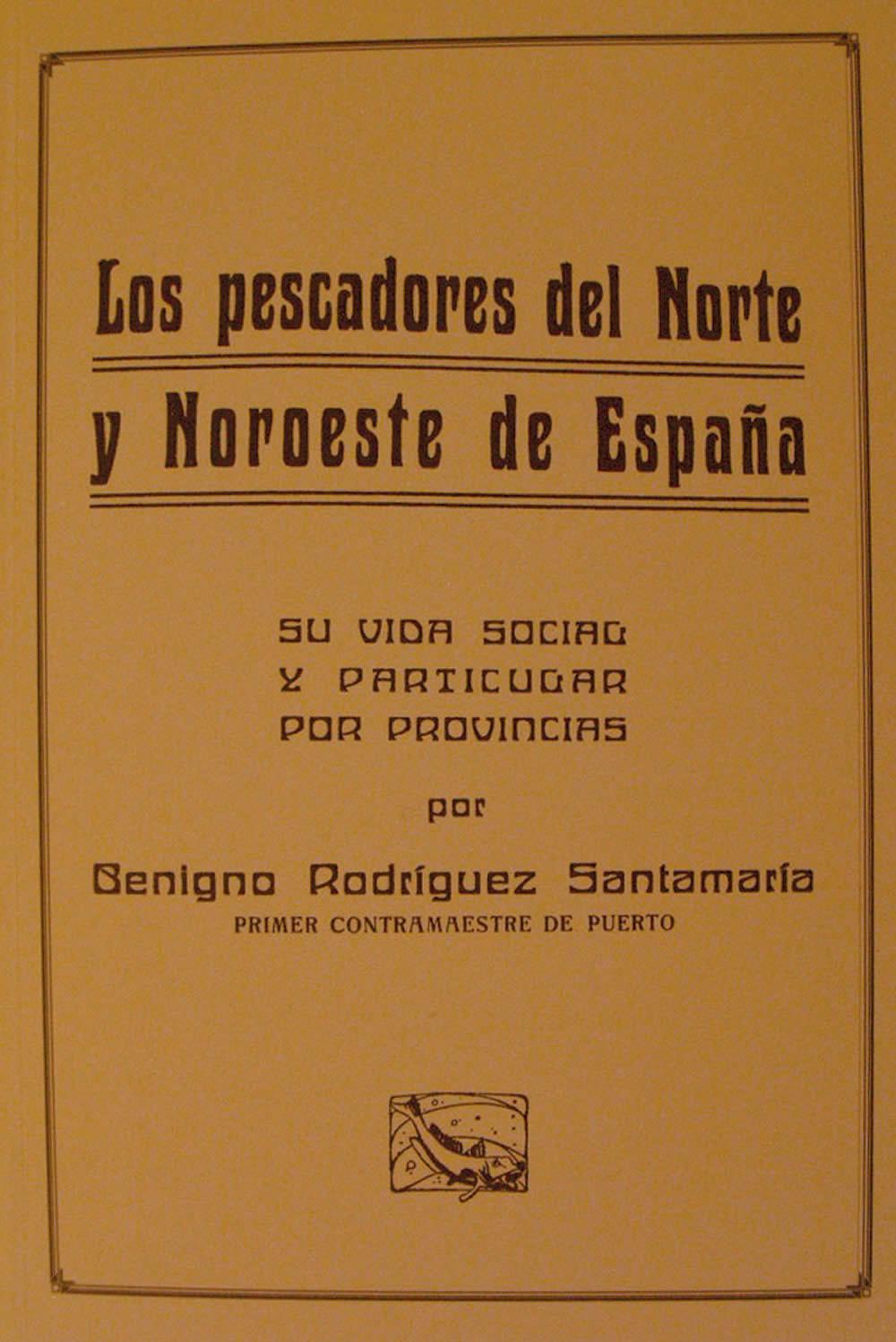 Portada de Los pescadores del norte y noroeste de España