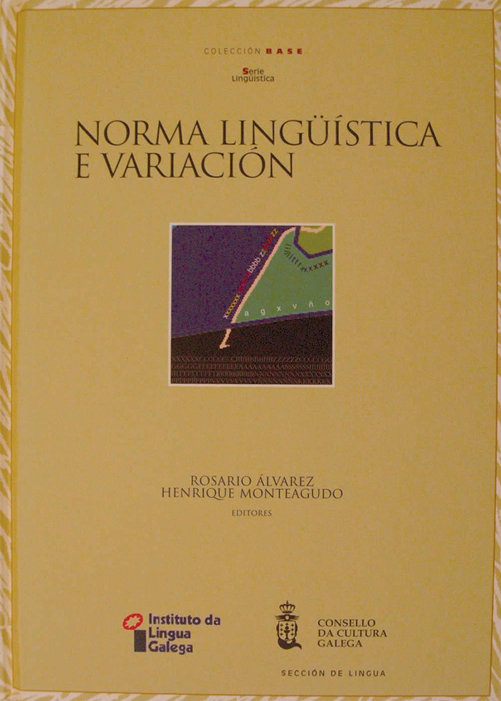 Portada de  Norma lingüística e variación