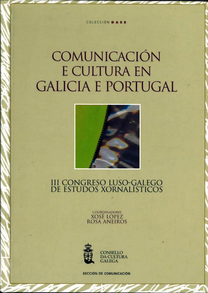 Portada de  Comunicación e cultura en Galicia e Portugal