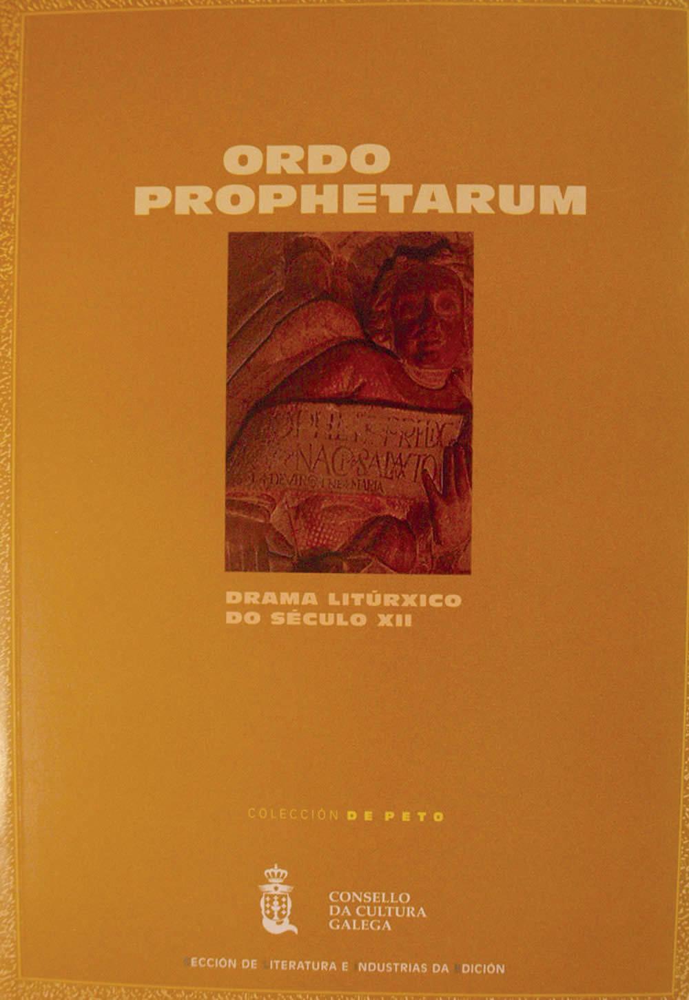 Portada de  Ordo prophetarum