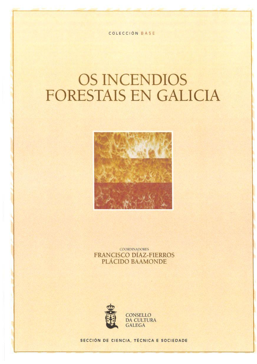 Portada de Os incendios forestais en Galicia