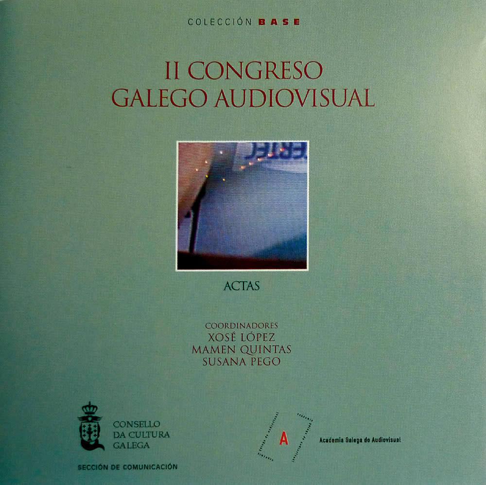 Portada de  II Congreso Galego Audiovisual: actas