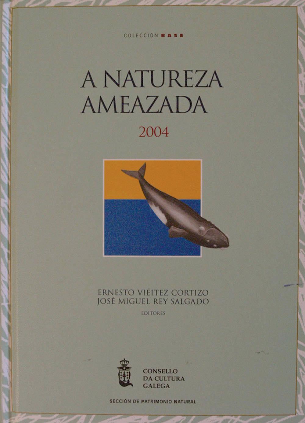 Portada de A natureza ameazada 2004