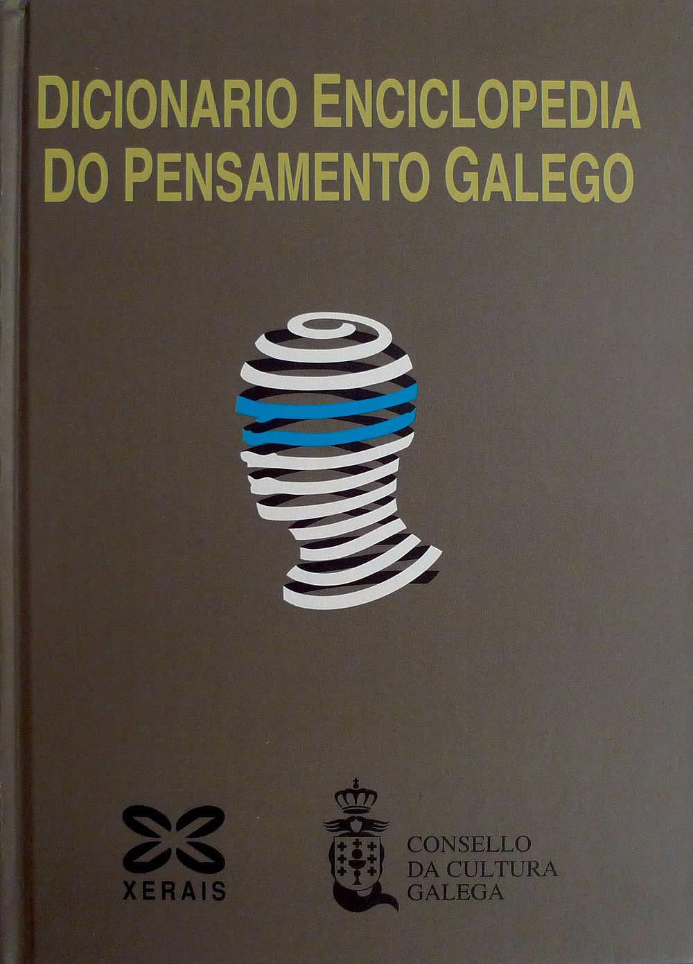 Portada de  Dicionario enciclopedia do pensamento galego