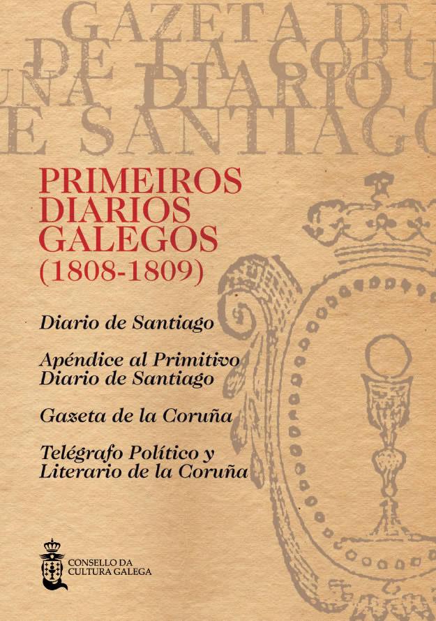 Portada de  Primeiros diarios galegos (1808-1809) [Vol. III]