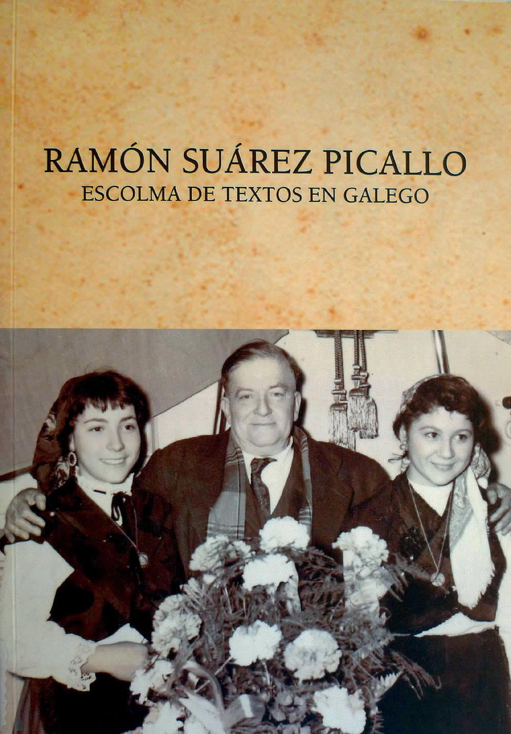 Portada de  Ramón Suárez Picallo. Escolma de textos en galego
